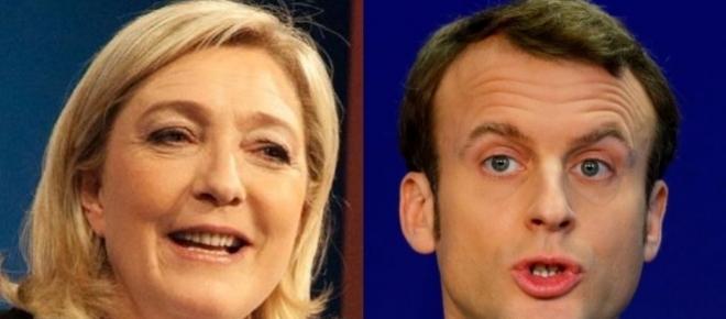 Frankreich: Macron und Le Pen weiter - Linksradikale randalieren in Paris