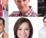 Aspirantes a gubernatura invitan a seguir debate vía redes sociales