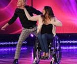 "Chelsie Hill and partner Josh Killacky send spirits to soaring heights with their dance routine on ""Ellen""--ellentv.com"