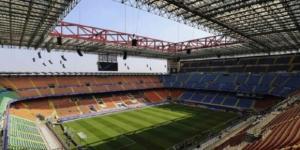 Lo stadio San Siro - Meazza di Milano.
