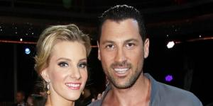 "Maksim Chmerkovskiy and Heather Morris eliminated from ""DWTS"" - Photo: Blasting News Library - usmagazine.com"