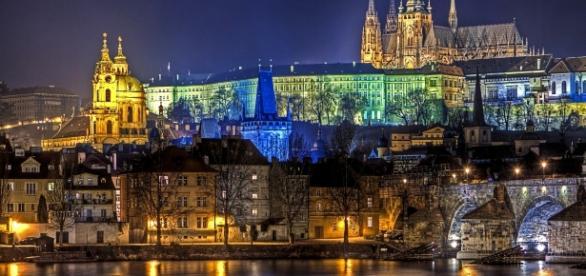 Il castello di Praga in tutto il suo splendore
