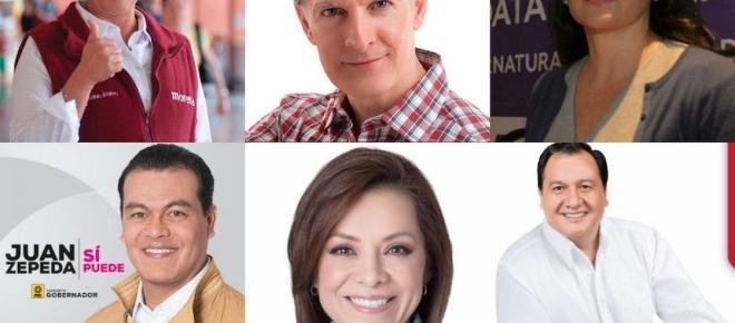 Candidatos al Edomex sacan sus mejores armas previo al primer debate oficial