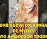 Marco Ferri y Alyson posan en diferentes publicaciones