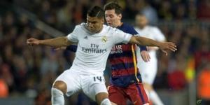 Casemiro, durante un encuentro disputado con el Real Madrid la pasada temporada