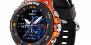 CES 2017: Casio Pro Trek WSD-F20 Smart Watch - watchuseek.com - watchuseek.com
