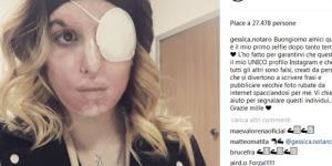 Foto di Gessica Notaro dal suo profilo Instagram