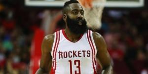 James Harden and the Rockets won Game 5 to eliminate OKC on Tuesday night. [Image via Blasting News image library/inquisitr.com]
