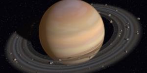 La sonda Cassini tra gli anelli di Saturno