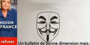 Les suites du Penelopegate et les soutiens de Boutin, Sens commun, la Manif pour tous, peuvent profiter davantage au vote blanc qu'à Marine Le Pen