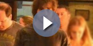 Fiuk é visto em shopping com filha de Xuxa