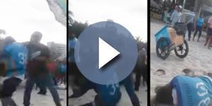 Homem é agredido na praia - Google
