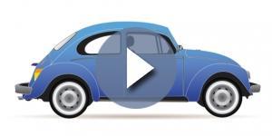 Você conhece a origem da brincadeira do Fusca Azul?