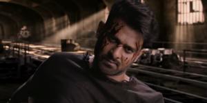 Prabhas from 'Saaho' (Image credits: screencap from youtube U V Creations)