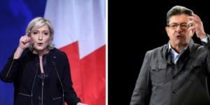Présidentielle: Le Pen drague les électeurs de Mélenchon