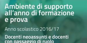 supporto per i docenti neo assunti