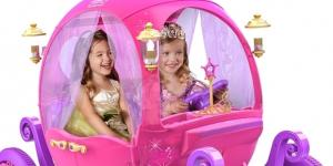 The 'Disney Princess Carriage' is one of the most innovative ride-ons ever created. / Photo via Charlotte Lee, Dynacraft. Used with permission.
