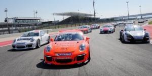 Un'immagine della Carrera Cup Italia