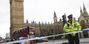 Westminster, sede del Parlamento inglese a Londra, nelle vicinanze del quale è stato fermato il presunto attentatore.
