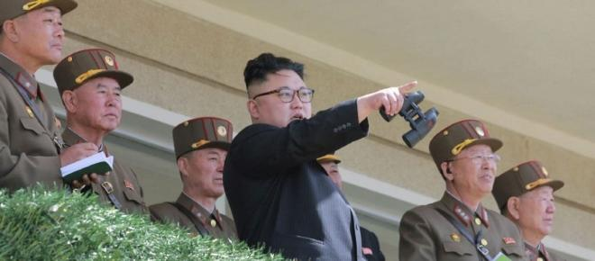 North Korea: Armies engaged in war games