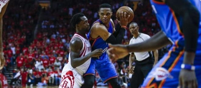 Houston Rockets eliminate Thunder despite 47 points from Russell Westbrook