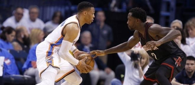 Russsell Westbrook and Patrick Beverley comment on their heated exchange