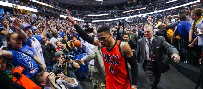 Russell Westbrook had a historic NBA playoffs stats against Houston Rockets