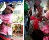 O médium Theprit Palee morreu após se ferir com uma espada durante uma tentativa de demonstrar sua imortalidade. Foto: Facebook
