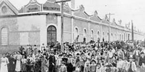 A primeira greve geral no Brasil foi iniciada por operárias da indústria têxtil, em São Paulo