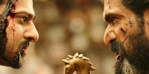 A still of Prabhas and Rana Daggubati from 'Baahubali: The Conclusion'