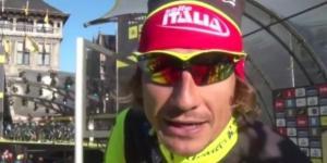 Filippo Pozzato, al Giro d'Italia per vincere una tappa