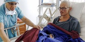 Il trekker di Taiwan sopravvissuto era disperso con la ragazza sull'Himalaya ma lei è morta. Foto: lavozdeasturias.it.