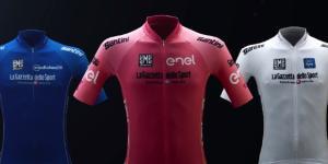 Le maglie del Giro d'Italia 2017