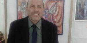 """Maurizio Lucchese, durante la mostra """"Passio Christi"""""""
