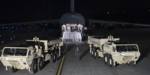 Sistema antimíssil THAAD chega à Coreia do Sul