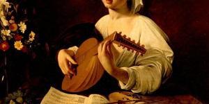 Suonatore di liuto di Michelangelo Merisi detto Caravaggio