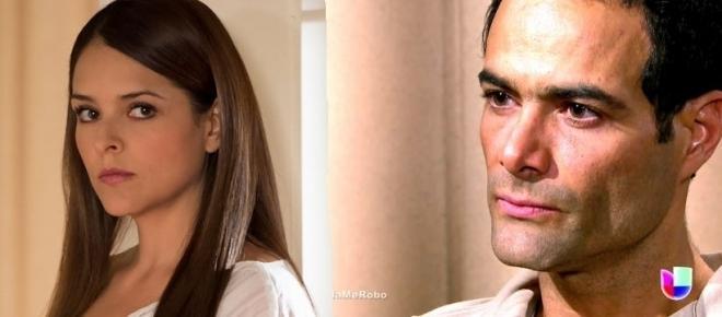 Maria seduz José Luis e diz que juntos eles irão separar Montserrat e Alessandro