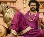 A still of Prabhas from Baahubali 2 movie