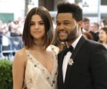 Selena Gomez y The Weeknd en el Met Gala