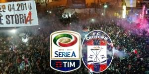 Anniversario della promozione in Serie A per il Crotone.