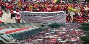 Greve geral: manifestantes tomam as ruas das principais cidades do país