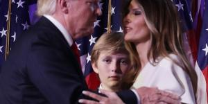 Melania and Barron Trump Photo Stirs Controversies And Fake Images - inquisitr.com