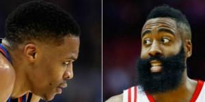 Midseason awards: It's Russell Westbrook vs. James Harden in ... - sportingnews.com