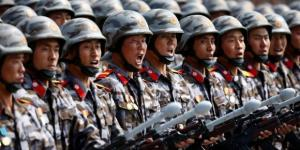 North Korean troops were carrying FAKE guns during military parade ... - thesun.co.uk