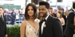 Selena Gomez y The Weeknd en el Met Gala