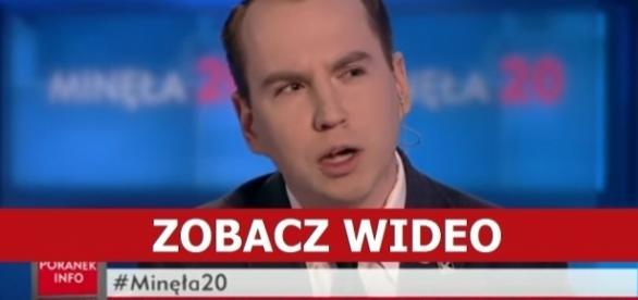 Adam Andruszkiewicz, Kukiz'15. Źródło: TVP Info.