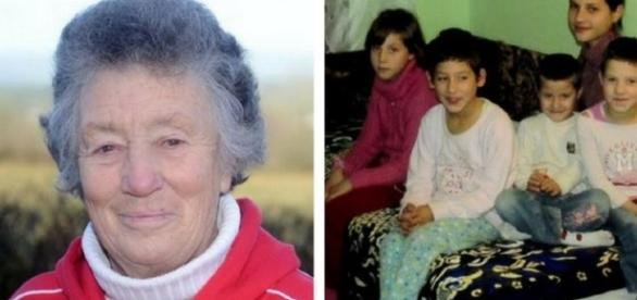 O britanică a salvat cinci surori abandonate din România