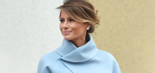 Melania Trump has been keeping a low profile/Photo via elle.com