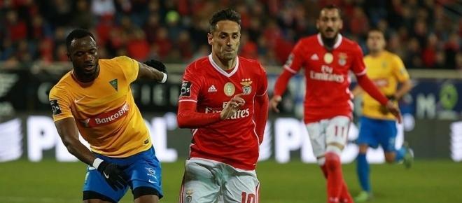 Benfica, 2 - Estoril, 1: Vitória sofrida perante um grande Estoril