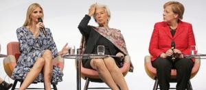 Ivanka gets hisses and booed while defending her father at Berlin women's summit ... - pressherald.com